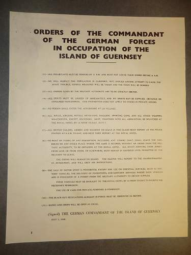 Click image for larger version.  Name:1ST JULY 1940 GUERNSEY POSTER 1.jpg Views:245 Size:206.6 KB ID:857730