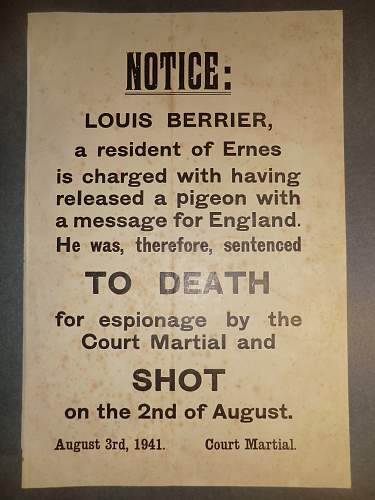 Click image for larger version.  Name:3RD AUGUST 1941 LOUIS BERRIER EXECUTION 1.jpg Views:222 Size:208.2 KB ID:857733
