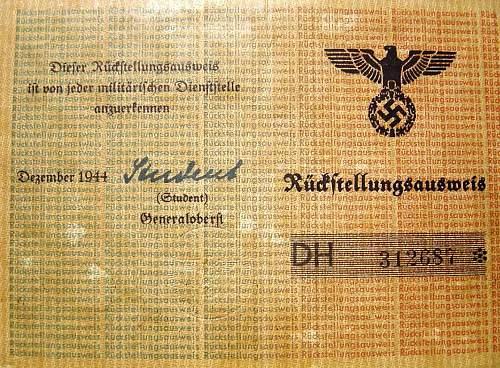 Dutch ID 1945, occupation