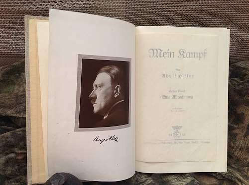 1937 Mein Kampf