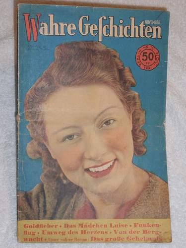 Click image for larger version.  Name:Wahre Geschichten Berlin Nr 11 Nov 1941_1.jpg Views:16 Size:148.5 KB ID:859707