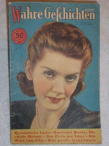 Wahre Geschichten magazine