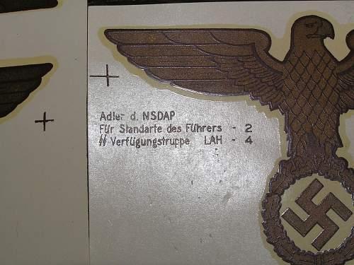 Fuhrer Standarte Fender Pennant Decals??