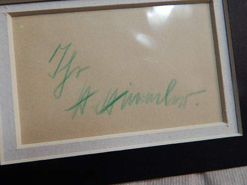 Your thoughts on this Himmler signature!