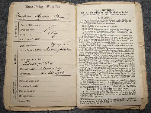 Large Document Group for one German boy growing up to become a soldier: HJ, Wehrmacht, Russian POW