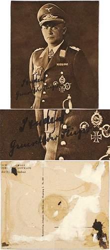 Kurt Student Signed Photos