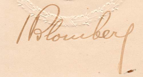 Adolf hitler signed document