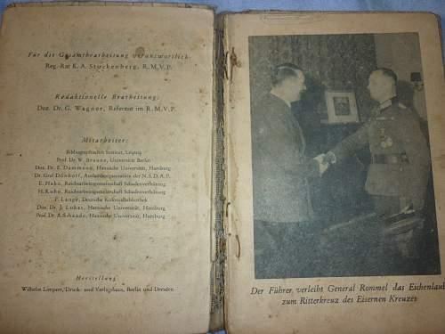 AfrikaKorps Kalender 1942 - help please.
