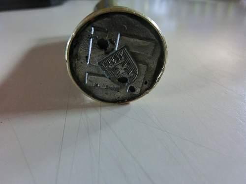 Enveloppe stamp/sealer