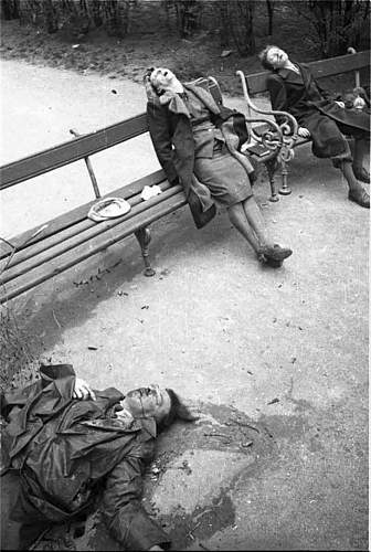 Suicide in the aftermath of WWII - WARNING, CONTAINS GRAPHIC IMAGES