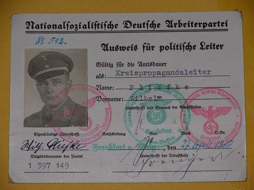 NSDAP Membership ID