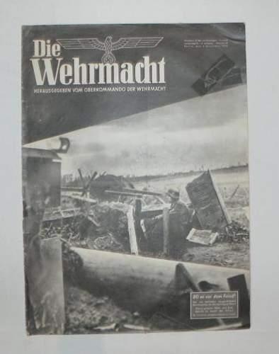 Die Wehrmacht magazine no 25, 8 Dez 43