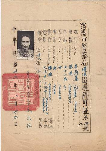 Former diplomats fate after the war - 1947 China