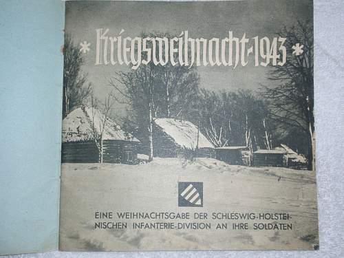 Kriegs Weihnacht 1943
