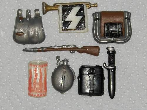 Hitler Jugend Plastic toy set