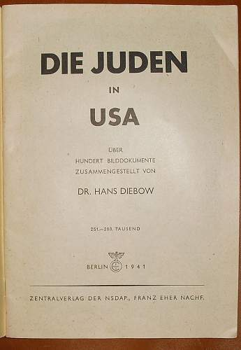 The Jews in the USA.