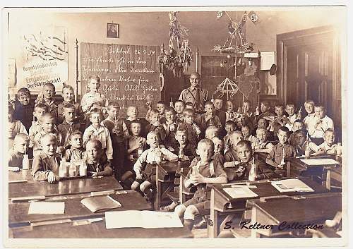 Hitler Youth elementary classroom photos
