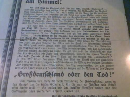 1927 Vienna Kampfzeit Poster!