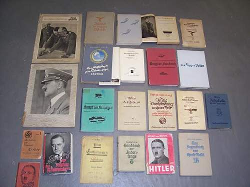 Collection of Third Reich reading material - New Purchase