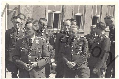 Anyone recognize this Luftwaffe general in this original photo?