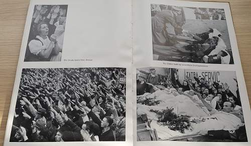Rare 1939 photo book on the fights of the nazis