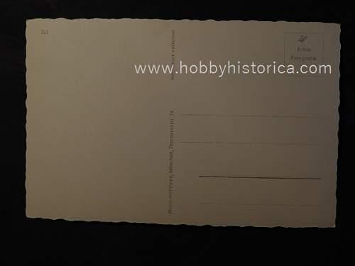 Hitler photos and postcards