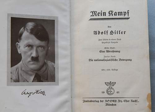 Mein Kampf - Asking for Opinions