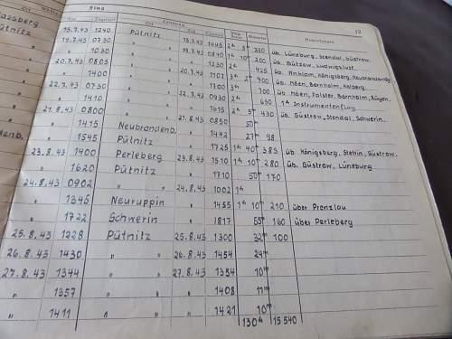 Luftwaffe Flugbuch