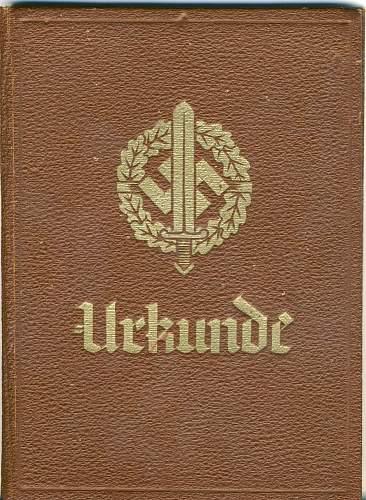 SA sports badge award book.