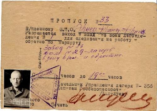 Help needed, Soviet POW doc