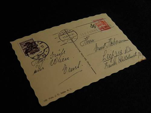 Hitler postcards