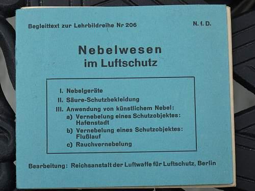Treasure Trove of Luftschutz Educational Slides