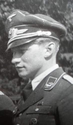 Adolf Pirker: Luftwaffe mans award book?