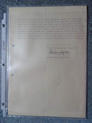 Unknown Military Typewritten Document