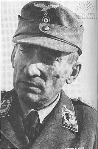 Luftwaffe Major Baumhauer. Sonderverband Bergmann.