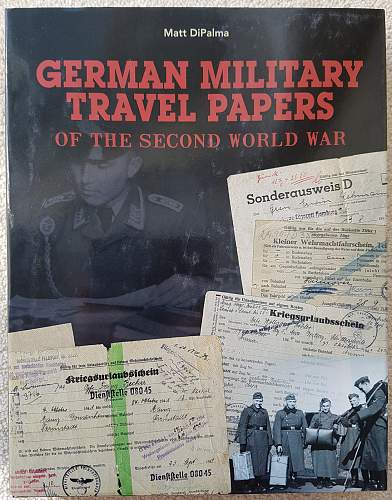 New Book: German Military Travel Papers Of The Second World War