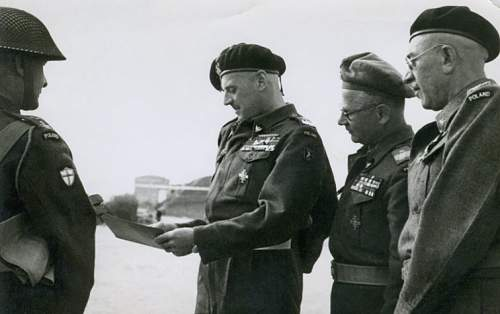 General Zygmunt Piasecki POW ID Card