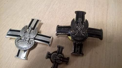 Help Needed with these Polish badges