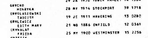Click image for larger version.  Name:Tadeusz Gryglaszewski Death 1983 Born 18th  June 1911 1a.jpg Views:11 Size:50.3 KB ID:1006439