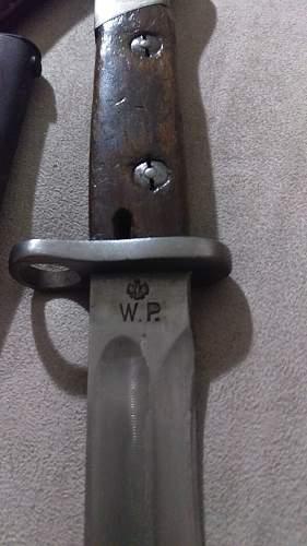 Polish made mauser bayonets