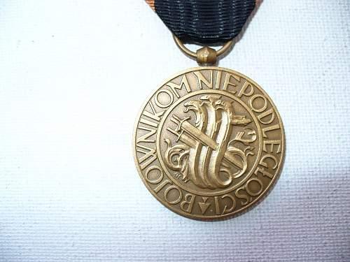 Click image for larger version.  Name:medal niepodległości znak mennicy 2.jpg Views:60 Size:117.3 KB ID:103121