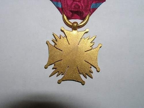 Click image for larger version.  Name:Złoty Krzyż Zasługi-1923 3.jpg Views:60 Size:66.4 KB ID:103153