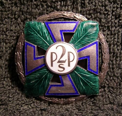 Вadge  of the 2nd Infantry Regiment