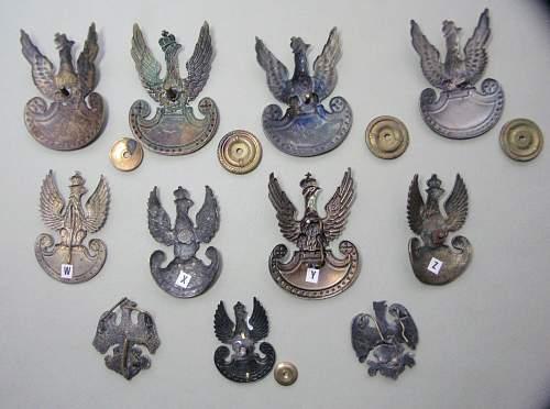 Polishboys small Eagle collection & pins