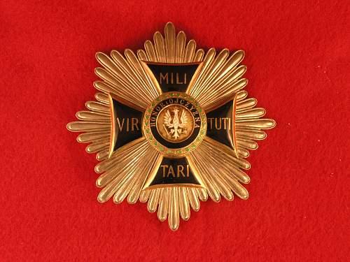 Polishboys virtuti-militari collection - grand cross & 3rd class