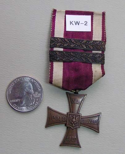 Polishboys Polish Cross of Valor Collection