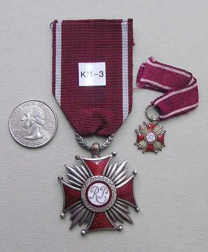 Polishboys polish cross of merit collection