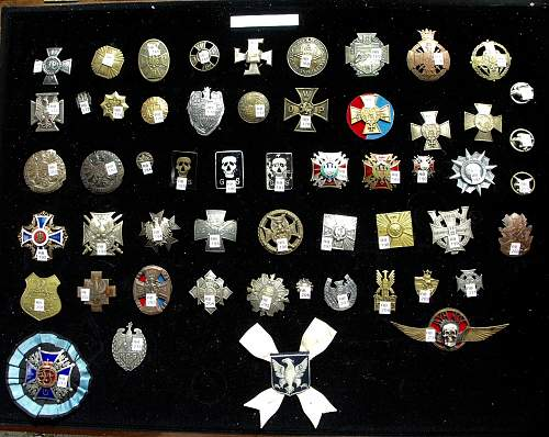 Polishboys polish badges and medals collection