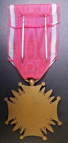 Cross of Merit (Krzyż Zasługi) by AB.