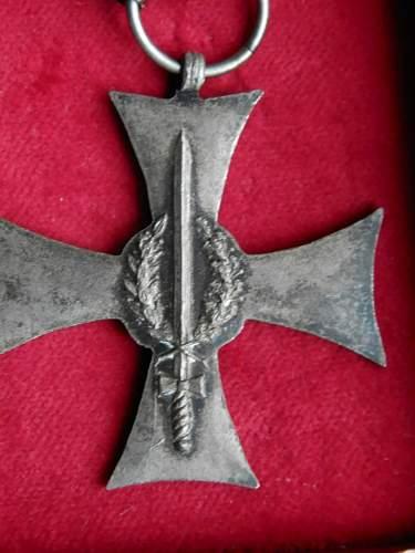 silesian uprising cross